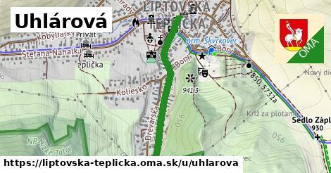 ilustrácia k Uhlárová, Liptovská Teplička - 672m