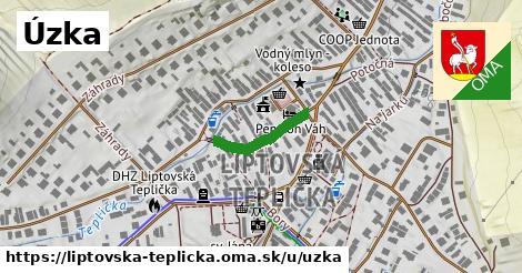 ilustrácia k Úzka, Liptovská Teplička - 152m