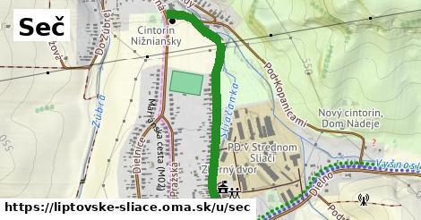 ilustrácia k Seč, Liptovské Sliače - 0,95km