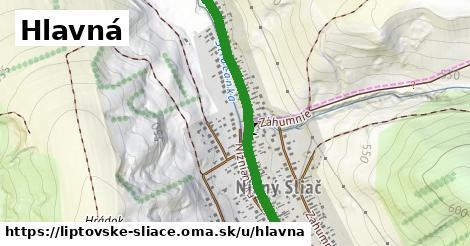 ilustrácia k Hlavná, Liptovské Sliače - 2,2km