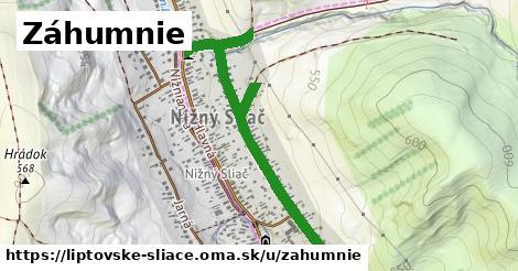 ilustrácia k Záhumnie, Liptovské Sliače - 1,10km