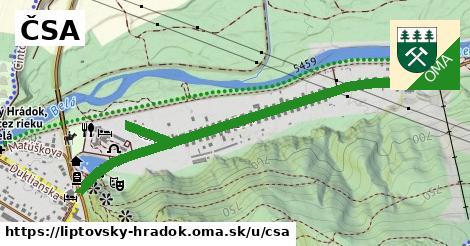 ilustrácia k ČSA, Liptovský Hrádok - 1,30km