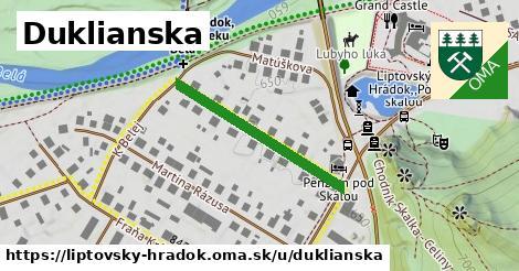 ilustračný obrázok k Duklianska, Liptovský Hrádok