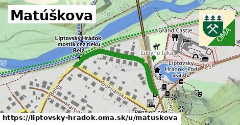 ilustrácia k Matúškova, Liptovský Hrádok - 555m