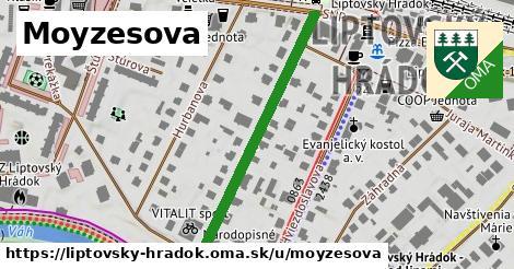 ilustrácia k Moyzesova, Liptovský Hrádok - 391m
