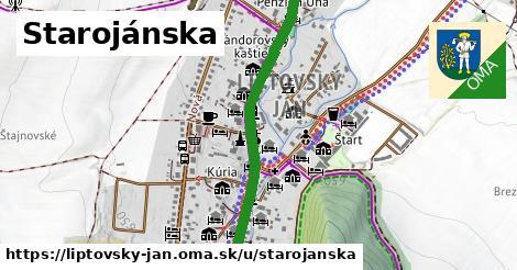 ilustrácia k Starojánska, Liptovský Ján - 1,07km