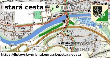 ilustrácia k stará cesta, Liptovský Michal - 588m