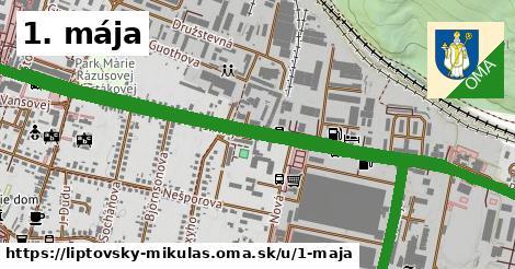 ilustrácia k 1. mája, Liptovský Mikuláš - 3,5km