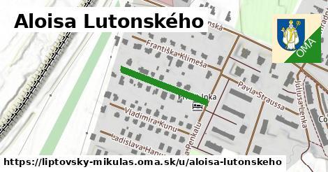 ilustračný obrázok k Aloisa Lutonského, Liptovský Mikuláš