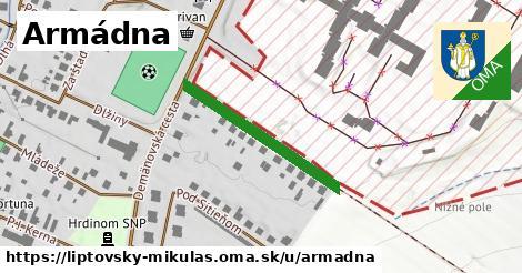 ilustrácia k Armádna, Liptovský Mikuláš - 265m