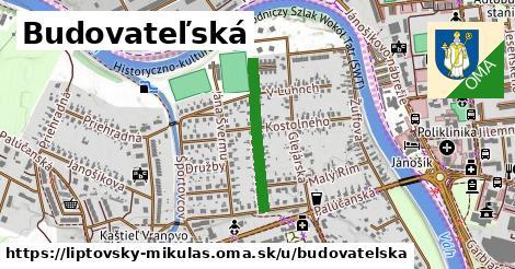 ilustrácia k Budovateľská, Liptovský Mikuláš - 442m