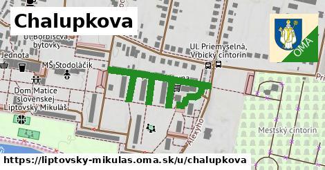 ilustrácia k Chalupkova, Liptovský Mikuláš - 236m