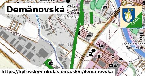 ilustrácia k Demänovská, Liptovský Mikuláš - 1,38km