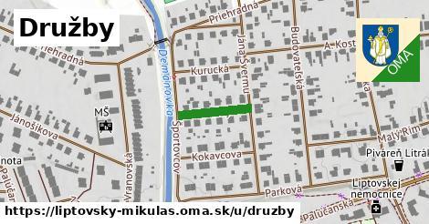 ilustrácia k Družby, Liptovský Mikuláš - 125m