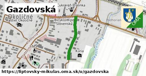 ilustrácia k Gazdovská, Liptovský Mikuláš - 226m
