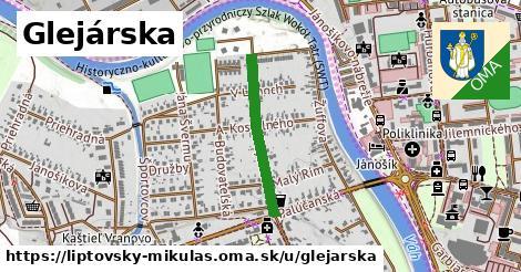 ilustrácia k Glejárska, Liptovský Mikuláš - 461m