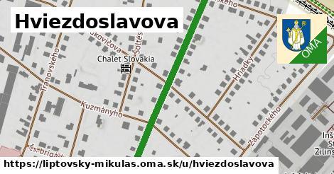 ilustrácia k Hviezdoslavova, Liptovský Mikuláš - 450m