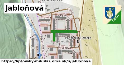 ilustrácia k Jabloňová, Liptovský Mikuláš - 210m