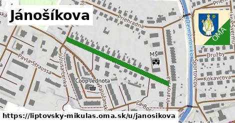 ilustrácia k Jánošikova, Liptovský Mikuláš - 349m