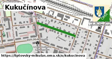 ilustrácia k Kukučínova, Liptovský Mikuláš - 270m