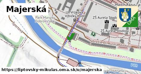 ilustrácia k Majerská, Liptovský Mikuláš - 0,88km