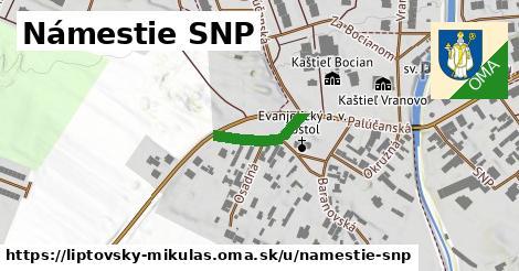 ilustrácia k Námestie SNP, Liptovský Mikuláš - 142m