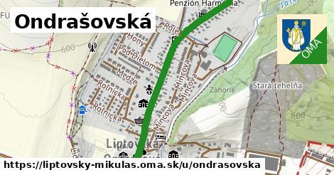 ilustrácia k Ondrášovská, Liptovský Mikuláš - 1,19km