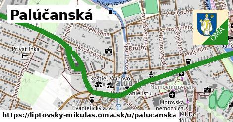 ilustrácia k Palúčanská, Liptovský Mikuláš - 1,99km