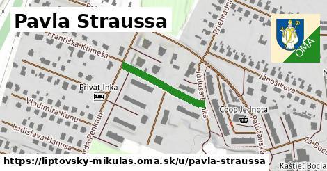 ilustračný obrázok k Pavla Straussa, Liptovský Mikuláš
