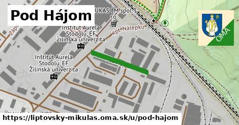 ilustračný obrázok k Pod Hájom, Liptovský Mikuláš