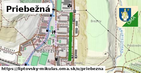 ilustrácia k Priebežná, Liptovský Mikuláš - 504m