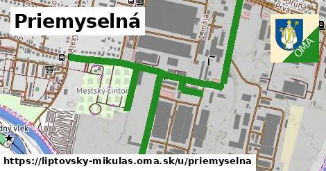 ilustrácia k Priemyselná, Liptovský Mikuláš - 1,13km