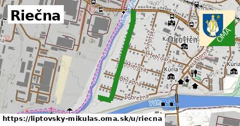ilustrácia k Riečna, Liptovský Mikuláš - 651m