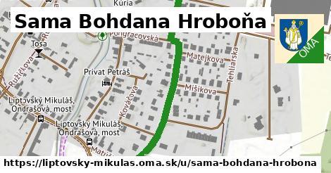 ilustračný obrázok k Sama Bohdana Hroboňa, Liptovský Mikuláš