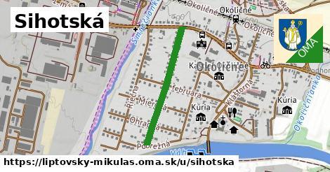 ilustrácia k Sihotská, Liptovský Mikuláš - 550m