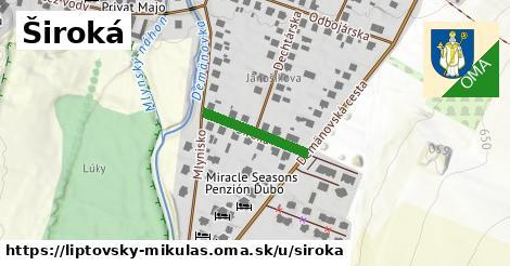 ilustrácia k Široká, Liptovský Mikuláš - 162m