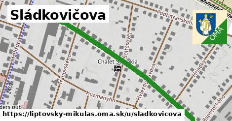 ilustrácia k Sládkovičova, Liptovský Mikuláš - 666m