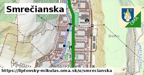 ilustrácia k Smrečianska, Liptovský Mikuláš - 1,19km