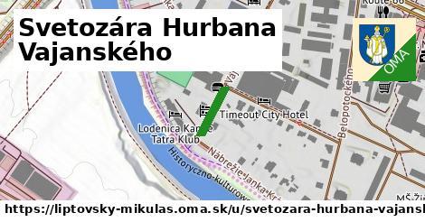 ilustračný obrázok k Svetozára Hurbana Vajanského, Liptovský Mikuláš