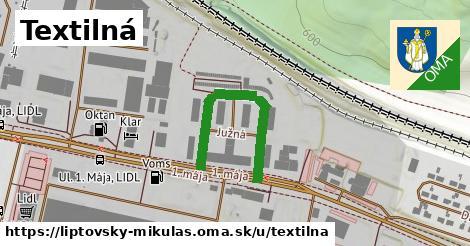 ilustrácia k Textilná, Liptovský Mikuláš - 327m