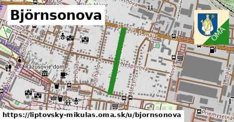 ilustrácia k Björnsonova, Liptovský Mikuláš - 433m