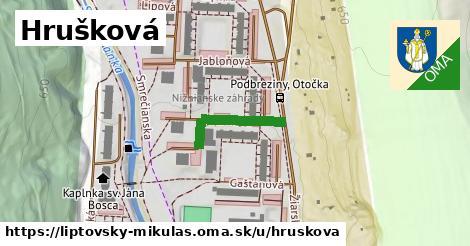 ilustrácia k Hrušková, Liptovský Mikuláš - 179m