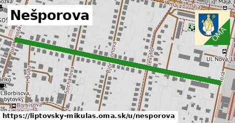 ilustrácia k Nešporova, Liptovský Mikuláš - 660m