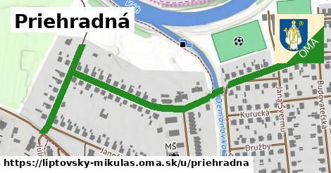 ilustrácia k Priehradná, Liptovský Mikuláš - 0,80km