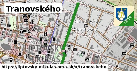 ilustrácia k Tranovského, Liptovský Mikuláš - 0,75km