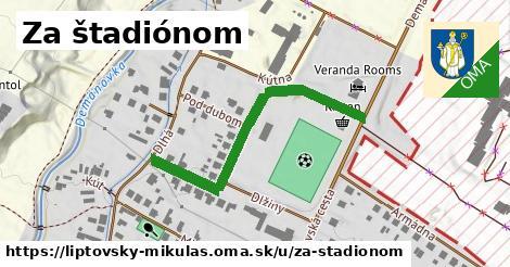 ilustrácia k Za štadiónom, Liptovský Mikuláš - 411m