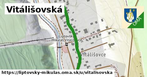 ilustračný obrázok k Vitálišovská, Liptovský Mikuláš