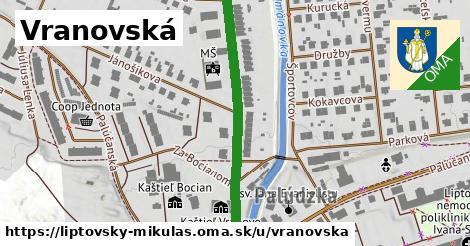 ilustrácia k Vranovská, Liptovský Mikuláš - 389m