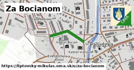 ilustračný obrázok k Za Bocianom, Liptovský Mikuláš