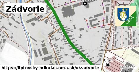 ilustrácia k Zádvorie, Liptovský Mikuláš - 530m